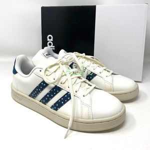 Adidas Grand Court Women's Sneakers Leather White